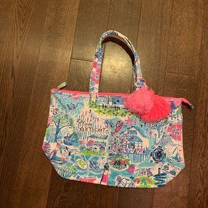 BNWT Lilly Pulitzer Nantucket Tote Bag